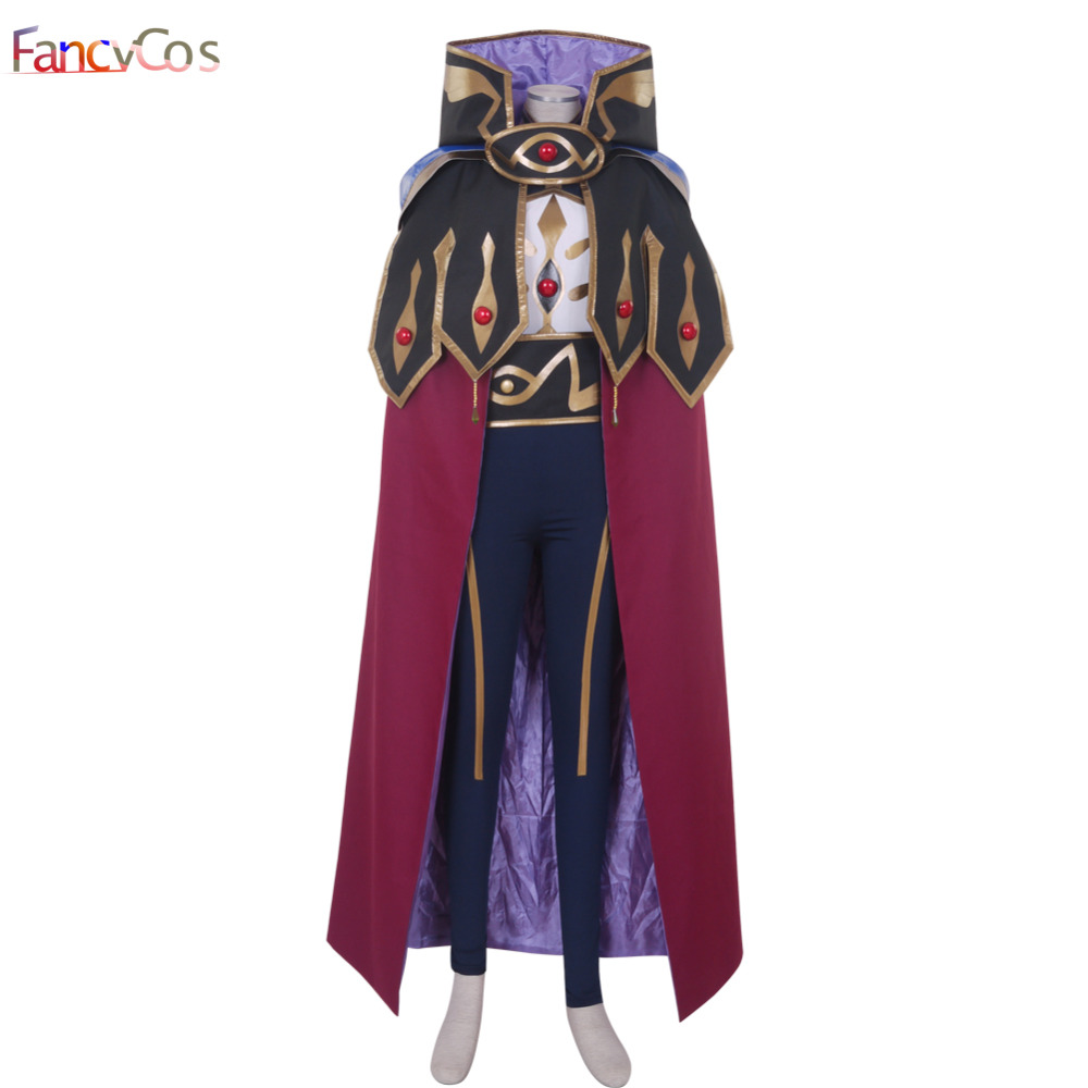 Halloween CODE GEASS Lelouch of the Rebellion Lelouch Lamperouge Japanese Anime Cosplay Costume High Quality Custom Made