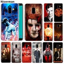 Soft Silicone Case for Samsung Galaxy J8 J6 J4 Plus 2018 A50 A70 A80 Note 8 9 TPU Cover movie Lucifer Clear Capa
