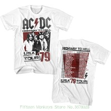 Casual Plus Size T Shirts Hip Hop Style Tops Tee S 2xl Acdc Hth
