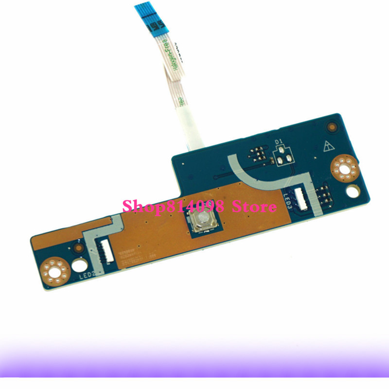 KEFU BAP20 LS-D754P FIT for DELL ALIENWARE 17 R4 POWER BUTTON BOARD+CABLE fully tested original for dell 0x836m x836m poweredge r510 8 bay sas riser board backplane cn 0x836m fully tested