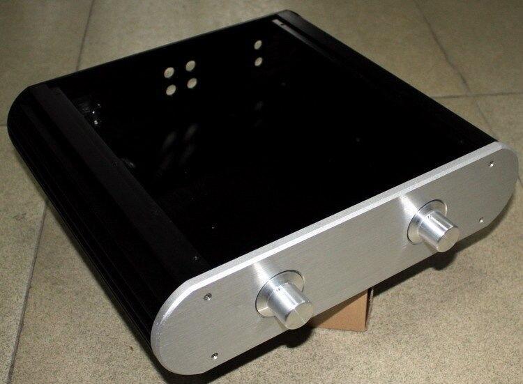 New WA28 Full Aluminum amplifier Enclosure/mini AMP case/Preamp box/ PSU chassis ll4312 pass full aluminum enclosure power amplifier box psu chassis preamp case