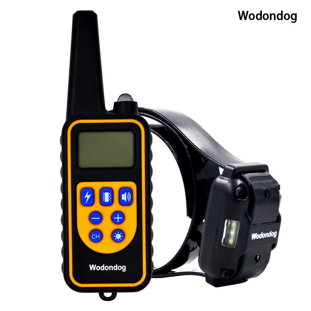 800m Dog Training Collar Electric Shock Collars For Dogs Ip7 Diving Waterproof 915mhz Remote Control Device Charging Lcd Display Pet Dog Training Collar Shock Collars For Dogsshock Collar Aliexpress