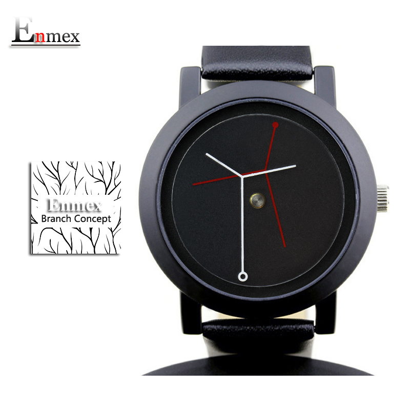 2017 gift for girl Enmex creative design wristwatch branch concept brief simple face nature fashion quartz lady watches