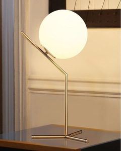 Image 3 - モダンなスタイルのリビングルームレストランペンダントライト北欧服装飾ガラス玉のペンダントランプ