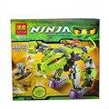 БЕЛА 9755 255 шт. Ниндзя игрушки фигурки ниндзя Клыки Python Механические строительные блоки устанавливает Образовательные Кирпичи игрушки для детей