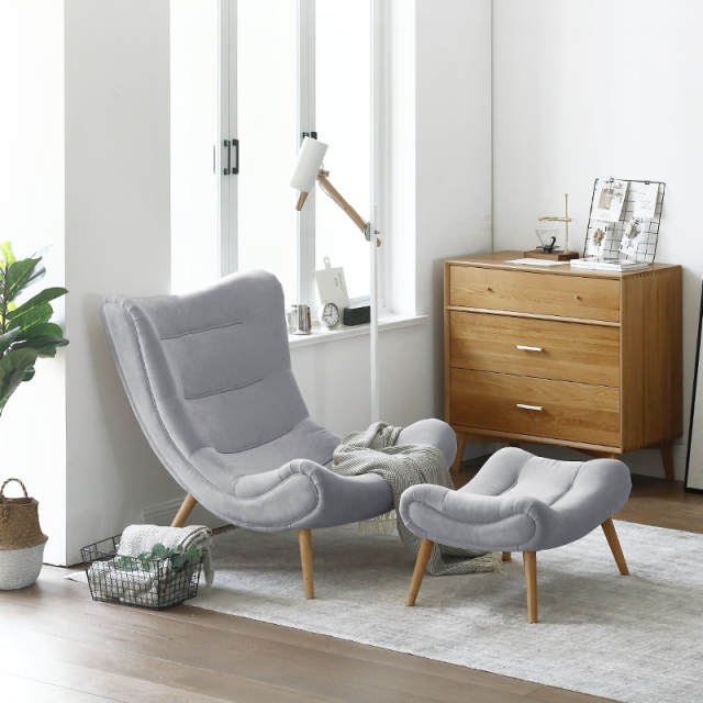 Marvelous Us 199 0 Louis Fashion Single Sofa Nordic Style Living Room Furniture Pink Small Snail Chair Modern Simple Cloth Art Tiger Chair In Living Room Machost Co Dining Chair Design Ideas Machostcouk