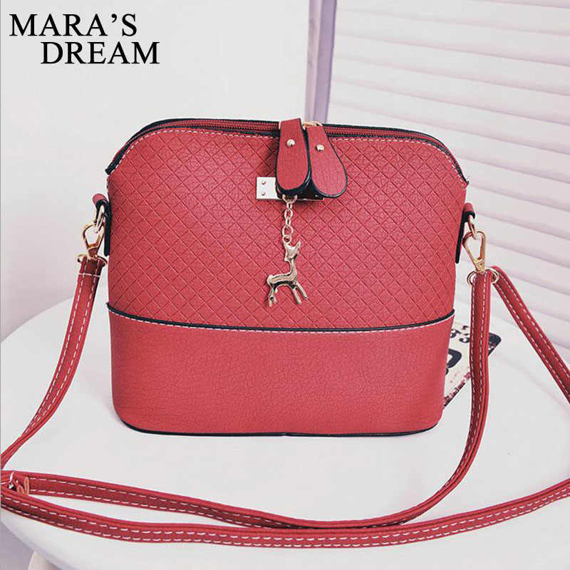 Mara's Dream 2019 ผู้หญิงกระเป๋า Messenger กระเป๋าแฟชั่นกระเป๋า Deer ของเล่นรูปร่างไหล่หญิง Crossbody กระเป๋า Sac หลัก Femme