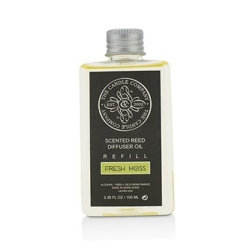 The Candle 213631 3.38 oz Reed Diffuser with Essential Oils Refill - Fresh Moss moss paul a h essential haematology