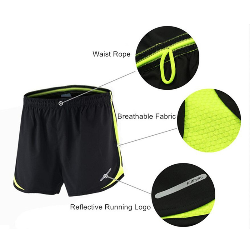 Image 5 - ARSUXEO Running Set Men Jogging Jersey Sports Suit Gym Clothing Sportswear Breathable Marathon Shorts and Running Shirts-in Running Sets from Sports & Entertainment on AliExpress