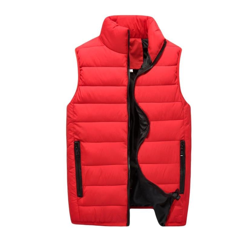 XT1155 2018 otoño invierno nuevos hombres favorece frívola juventud tamaños más grandes de algodón masculina chaleco sin mangas escudo barato al por mayor