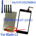 New Black LCD Display + Touch Screen Digitizer Glass  For ZTE Blade L3 Go1 + Free Tools