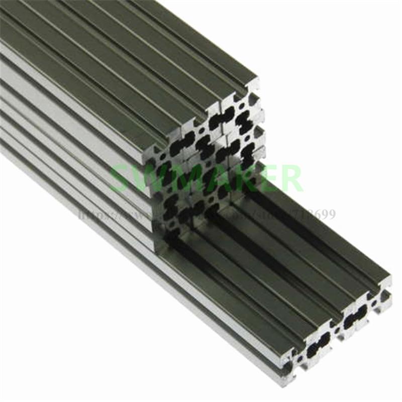 swmaker kossel legado kit de extrusao aluminio prata 15x15 1515 pecas impressora 3d reprap