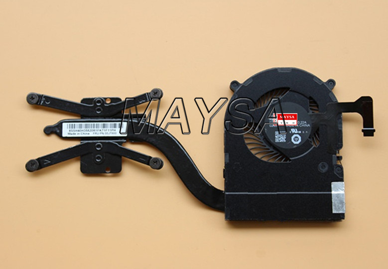 New Original for Lenovo ThinkPad X1 Yoga X1 Carbon 4th Heatsink CPU Cooler Cooling Fan 00JT800 01AW976 new original for lenovo thinkpad t400 heatsink cpu cooler cooling fan cooler discrete graphics system 45n6144 45n6145