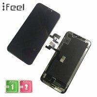 IFEEL AAA + + + ЖК дисплей Дисплей для iPhone X ЖК дисплей Дисплей Сенсорный экран сборки черный без битых пикселей ЖК дисплей Бесплатная доставка