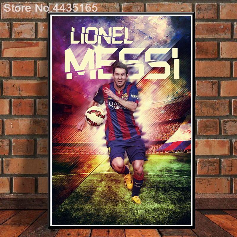 61X91 J2545- Lionel Messi FC Barcelona Soccer Pop