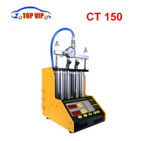 2018 DHL Free 100% Original AUTOOL CT150 4 Cylinder Auto Ultrasonic Injector Cleaner and Tester Machine 220/110V 2 in 1