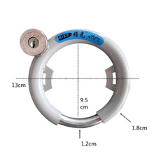 Bicycle Lock Anti – Theft Bike Lock Bike Old Pattern Bold Latch Lock Round Steel Lock