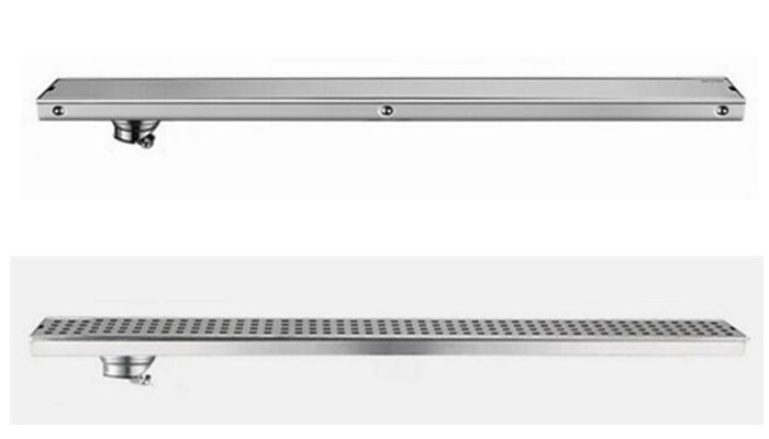 304 stainless steel 80cm linear anti odor long floor drain bathroom invisible shower 800mm floor drain