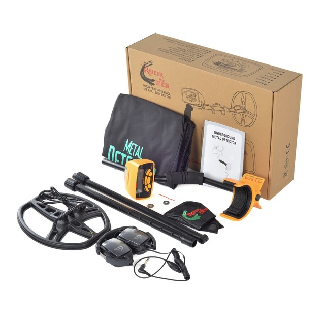 Underground Metal Detector Professional MD6350 Gold Digger Treasure Hunter MD6250 Updated MD-6350 Pinpointer LCD Display 5