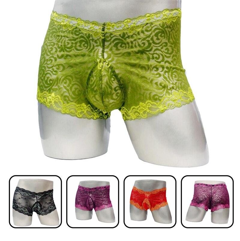 White Unicorn Purple Forest Mens Underwear Soft Polyester Boxer Brief for Men Adult Teen Children
