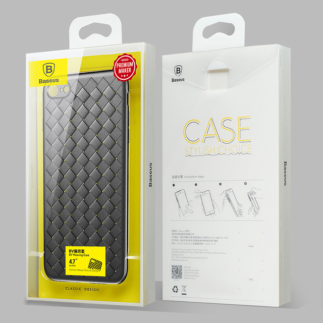 Luxury Grid Pattern Silicone Case – Apple iPhone
