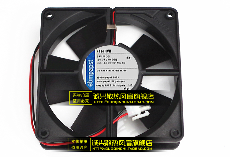 Free Delivery.4314HVR 24VDC 8.2W 120 * 120 * 32 three-wire fan new original bp31 00052a b6025l12d1 three wire projector fan
