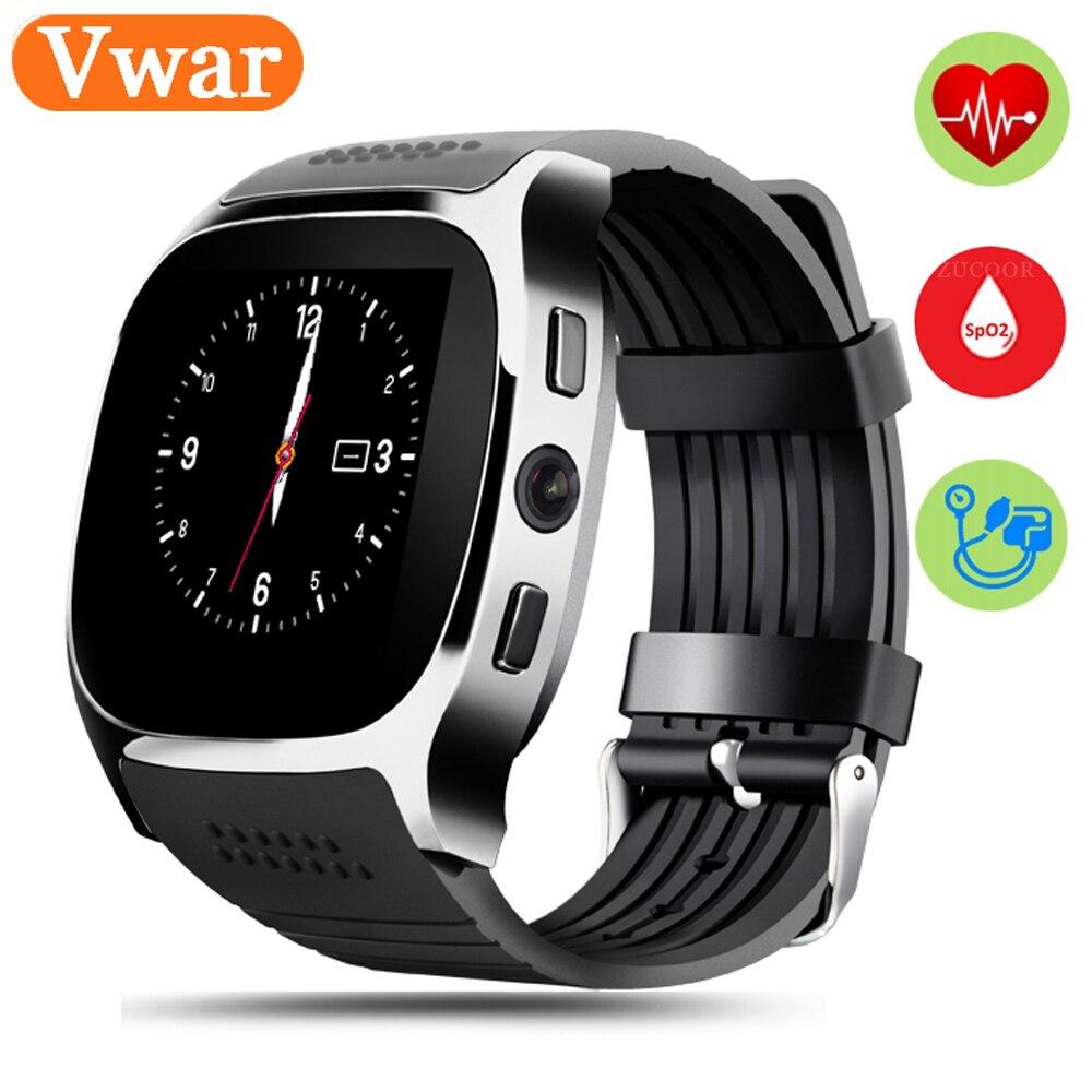 Vwar Bluetooth Heart Rate Monitor Smart Watch Blood Pressure Monitoring Fitness Tracker Smartwatch PK K88H Kw18