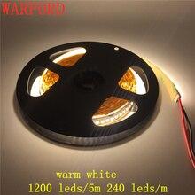 (5 m/рулоны) DC24V 3014 SMD 240 светодиодный s/M высокая яркость ip20 не водонепроницаемый Светодиодные ленты света Гибкая