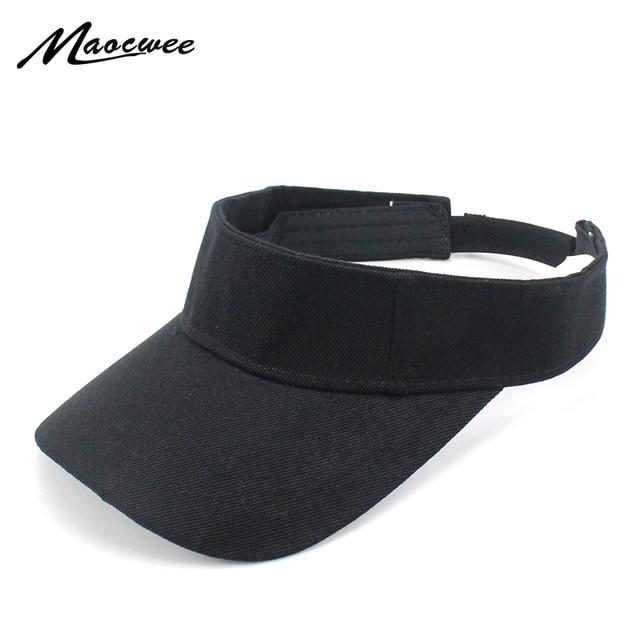 16258f189f88a Sun Hats Solid Sport Breathable Adjustable Summer Snapback Acrylic baseball  Empty Top Cap Hats For Men