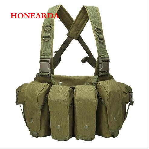 Tactical Vest MOLLE Expansion System Cs Training Equipment Security Training Clothes Quick Release Apron Vest
