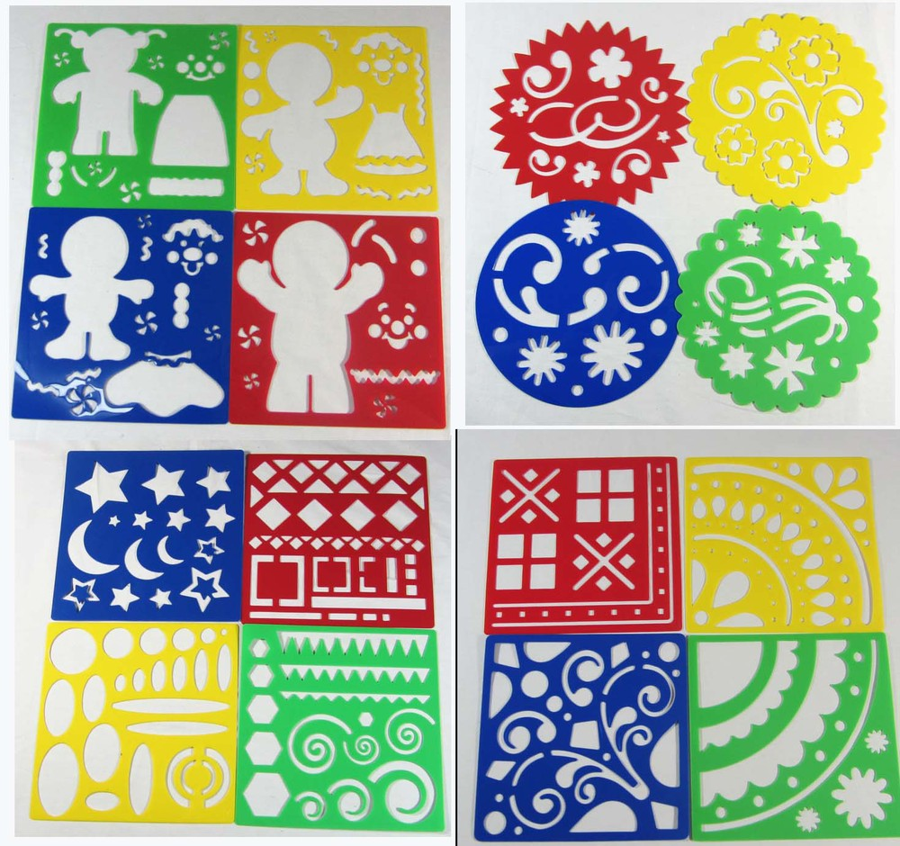 free shipping153cm153cmart stencil children drawing stencils tracing pictures drawing toymany styles - Kids Drawing Stencils