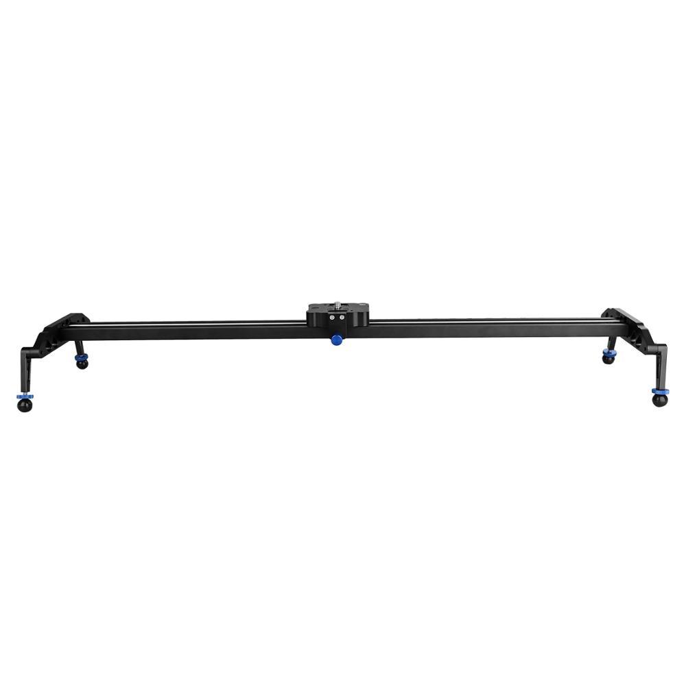 60cm/80cm/100cm Camera Slider Professional Video Track Bearing Slider Dolly Stabilizer Rail System For DSLR Camera Camcorder