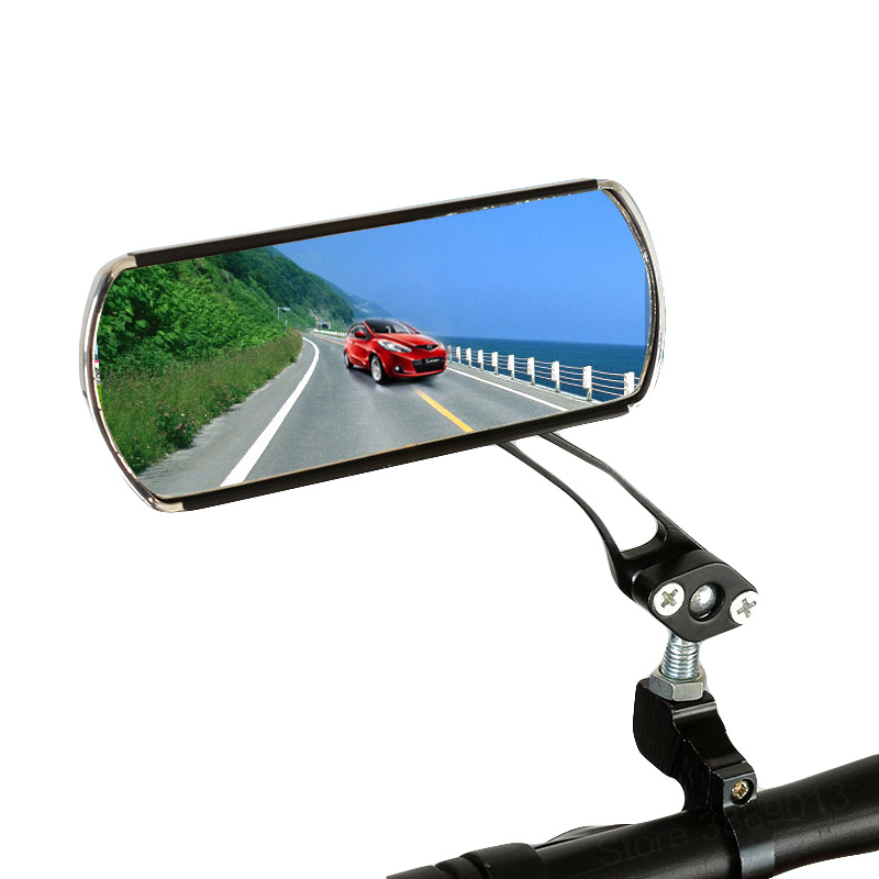 Bike Bicycle Cycling Rear View Mirror Handlebar Flexible Safety Rearview