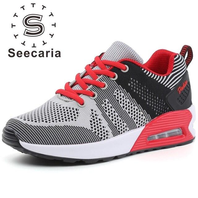 Talla &  Zapatos Zapatillas  plataforma transpirable Mujer Zapatillas Zapatos PARA DEPORTE ATLETISMO 715c36