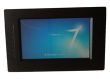 7″ Fanless Industrial Panel PC, N2600 CPU/2GB RAM/32GB SSD/HD LCD, all in one touch screen panel pc, 7 inch HMI