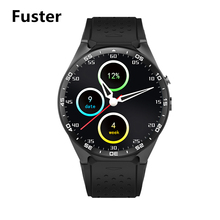 Fuster KW88 Smart Watch MTK6580 CPU Android 5.1 System Smartwatch with GPS and Heart Rate Best Smart Electronics