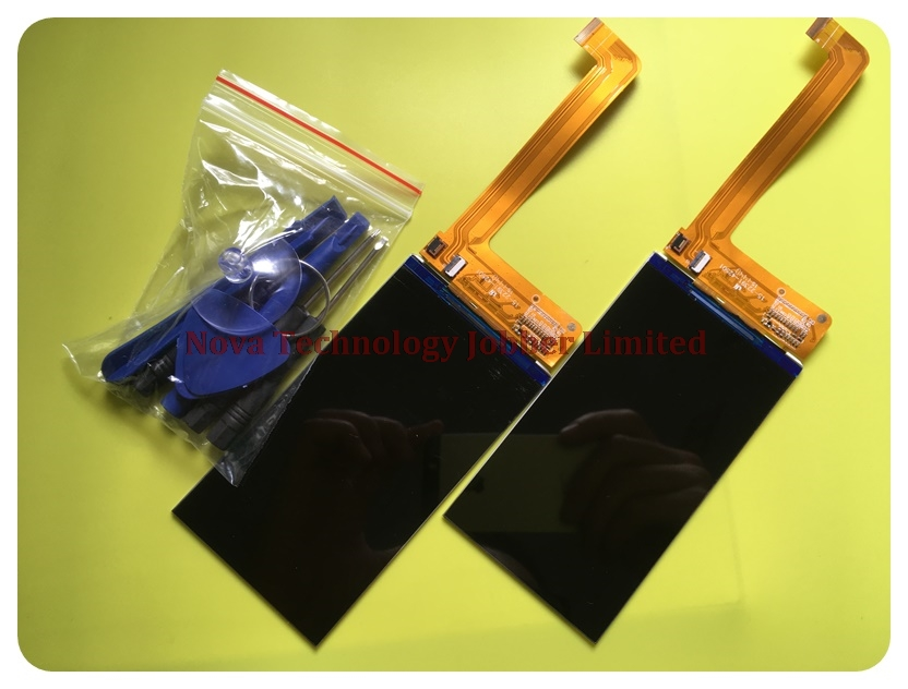 Wyieno For Fly Era Life 4 IQ4409 LCD Display Screen Smartphone Replacement Parts ( Not Sensor ) ; With Tracking Number