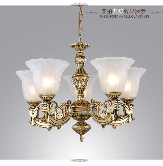 Free Shipping Modern Antique chandelier bedroom lamp bronze color fashion  chandelier Lighting rustic lighting lamps - Online Shop Free Shipping Modern Antique Chandelier Bedroom Lamp