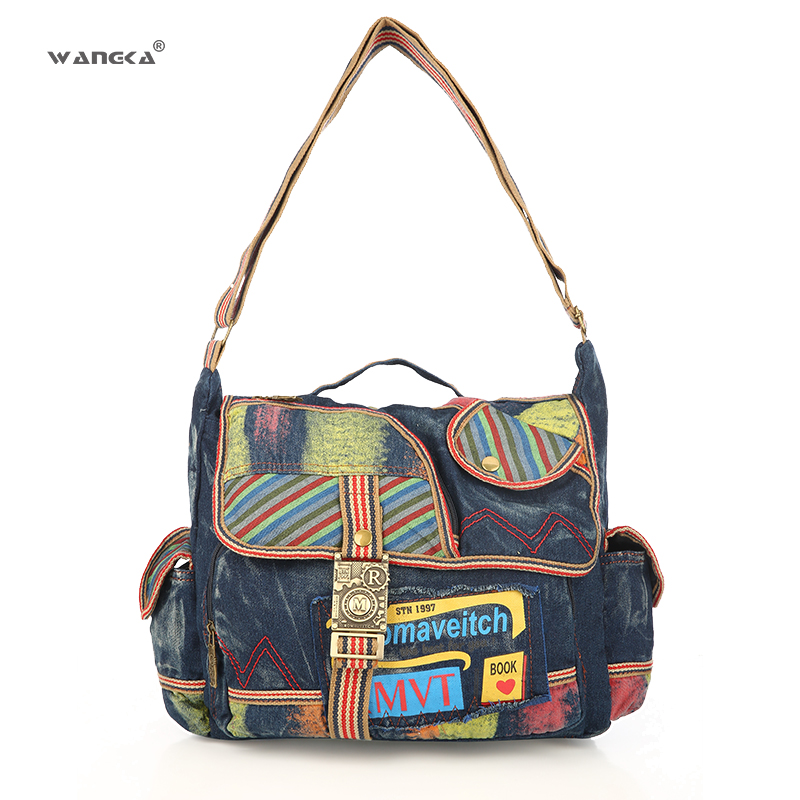 2019 Women School Crossbody Single Shoulder Bagpack Bag Women Multifunction Travel Casual Messenger Leisure Bag