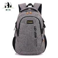 Brand Canvas Men Women Backpack Schoolbags For Teenager Boy Girls Male Escolar Laptop Travel Backpacks Mochila