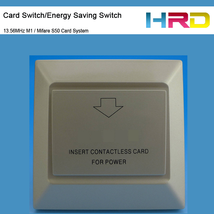 Ct106 Gold Hotel Room Energy Saving Switch Key Card Use With 13 56mhz M1 Mf S50 System