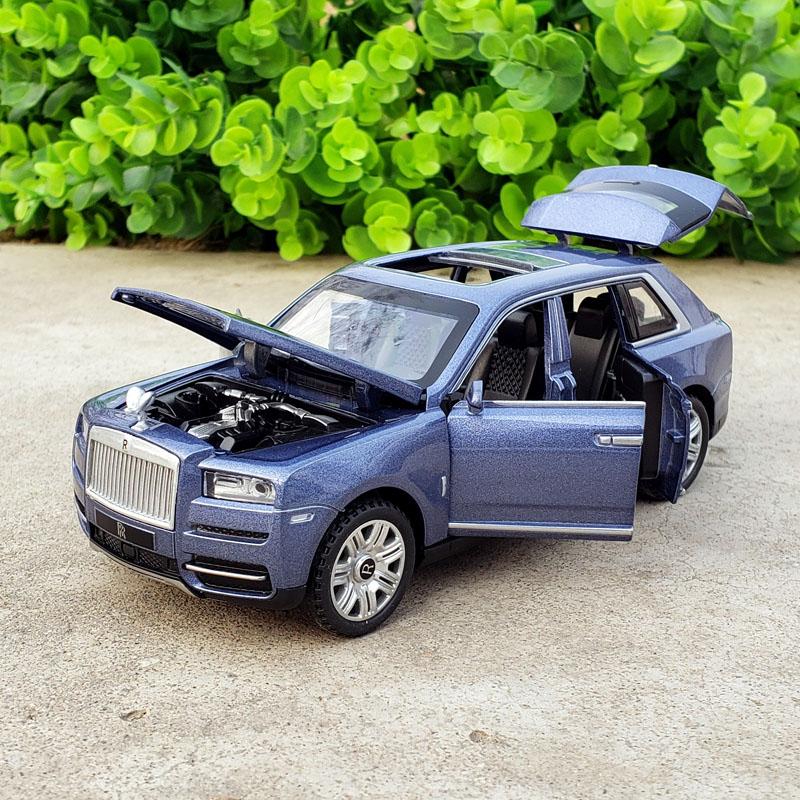 Wheels 1:32 Rolls Royce Cullinan Diecast Toys Vehicle Models Metal Car Model Mini Cars Track Birthday Gifts For Boy Children