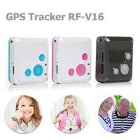 Mini Personnels Enfants Enfant GSM GPRS GPS Tracker RF-V16 SOS Communicateur 7 Jours En Veille Voix Surveillance Vie de Cheminement Libre