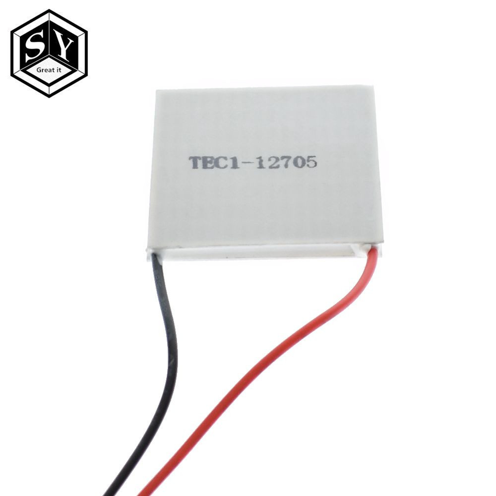 Tec1 12705 Thermoelectric Cooler Peltier 12v 5a Cellstec12705 Tec 1 12706 Elemen Panas Dingin Elmen Dispenser 1pcs Cells Tec12705 Elemente Module