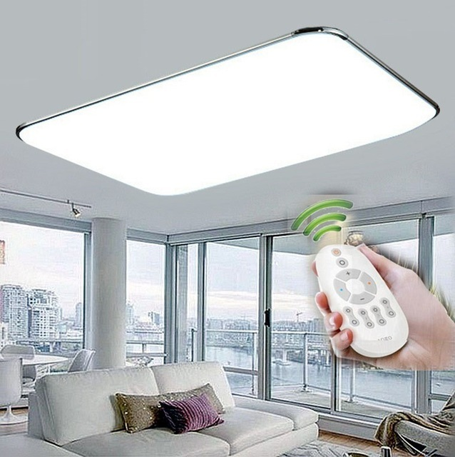 48W Dimmable With Remote Control Ceiling Light Use In 20 To 30 Sq Meter Room Home