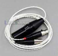 1.5 m 4pin xlr 밸런스드 4*100 코어 occ 퓨어 실버 도금 헤드폰 케이블 audeze LCD-3 lcd3 LCD-2 lcd2 ln006163