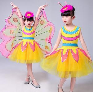 Image 3 - Nowa fantazja dziecko fantazja Halloween Infantil zwierząt skrzydła motyla karnawał dziewczyny dzieci motyl kostium