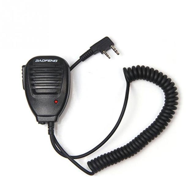 2019 новый двухсторонний микрофон для динамика Baofeng 888 S 5R 5RA UV82 8D 5RE