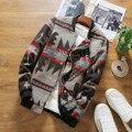 Осень Шерсть Цветочные Куртка Мужчины JL26 Бомбардировщик Куртка Мужчины Весте Homme Куртки Hombre 2016