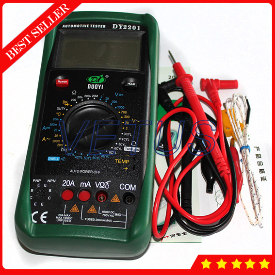 DY2201 digital multimeter Automotive Meter